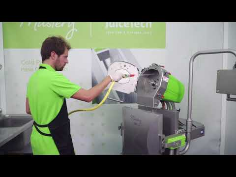How to clean your Mastery Commercial Cold Pres Juicer