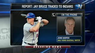 New York Mets trade Jay Bruce to the Cleveland Indians 2017 Video