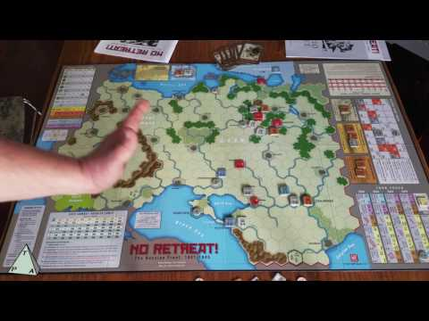 Review: No Retreat! The Russian Front by GMT Games - The Players' Aid
