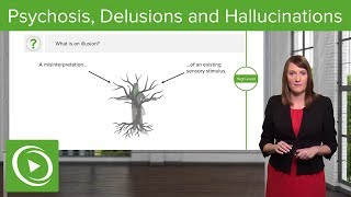 Psychosis, Delusions and Hallucinations – Psychiatry | Lecturio