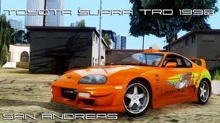 [SA] Toyota Supra TRD 1998 Tunable (Fast&Furious)