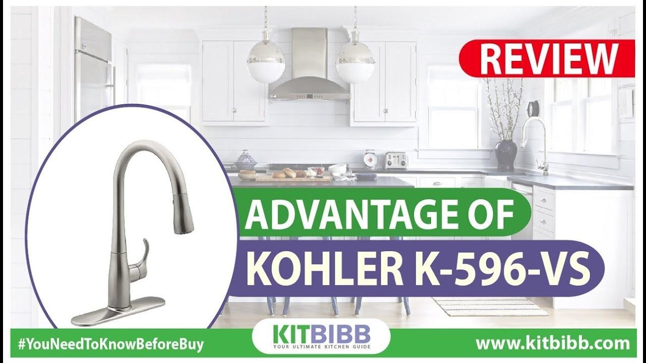 Advantage of kohler K-596-VS ! kitbibb ! Best Kohler Kitchen Faucets ...