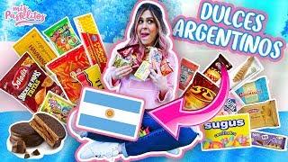 PROBANDO DULCES ARGENTINOS   MIS PASTELITOS