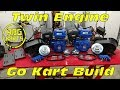 Twin 18hp Engine Go Kart Build Ep 1