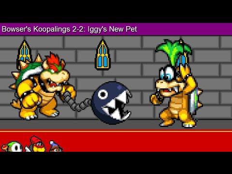 Bowser's Children 2-2: Iggy's New Pet