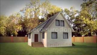 Проект дома по канадской технологии 138,5 кв. м.(http://ecoeurodom.ru/projects/128 Строительство домов и коттеджей по канадской технологии. У нас - собственные проектиров..., 2013-09-18T18:20:43.000Z)