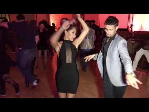 Eddie Torres Jr  &  Michelle Morales Mambo Dance @ Seattle Salsa Congress 2016
