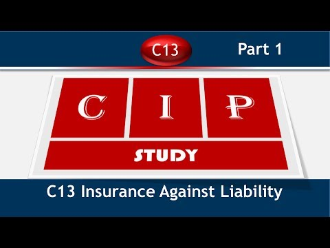 C13 Insurance Against Liability Terms and Defination