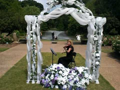 Fort Worth Botanical Gardens Ave Maria Shubert played by Dr Tiara