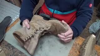 Берцы , алшақтық шнуровки. Жөндеу және қалпына келтіру аяқ-киім