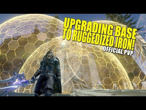Upgrading Base To Ruggedized Iron! (Official pvp) - Dark and