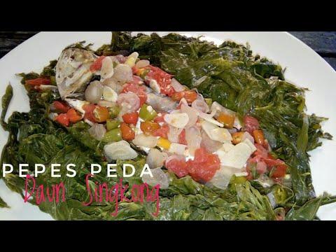 pepes-peda-daun-singkong-|-menu-sahur-praktis-sederhana-day-#6