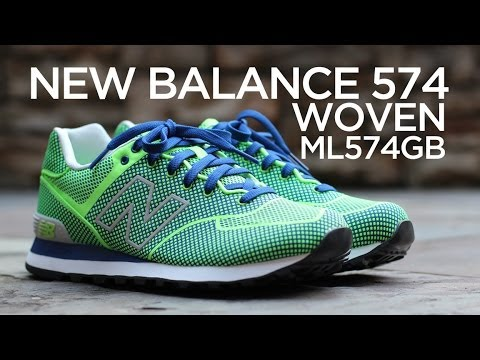 new balance 574 woven collection