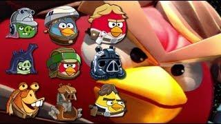 Angry Birds StarWars II Telepods Zam Wessel Jedi Youngling Endor Jar Jar Bink Droideka