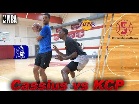 Cassius Stanley vs Lakers KCP | One v One game