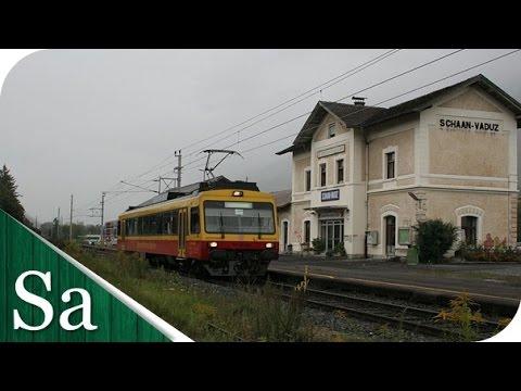 Liechtenstein Railway - Trains of Liechtenstein