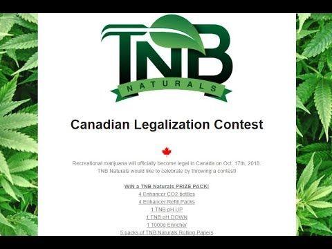 TNB NATURALS CONTEST WINNER - Details On The Next Giveaway & A SPECIAL LEGALIZATION CONTEST!!!