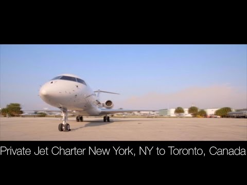 Private Jet Charter New York, NY to Toronto, Canada
