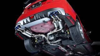 WRX STI(VAB)&S4(VAG)用ステンレス製4サイレンサーマフラー《PREMI...
