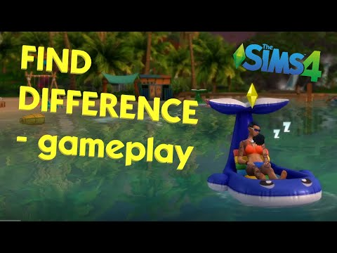 Find Difference: The Sims 4 - Island living/Uncover 10 missing objects |