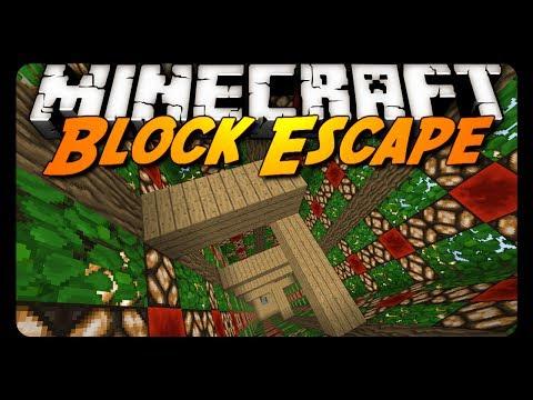 Minecraft: BLOCK ESCAPE! - Pt. 2 (Custom Map)