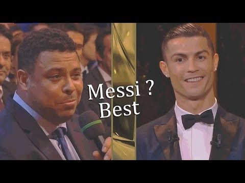 Football Stars Reaction to The Ronaldo Win Ballon D'or 2017