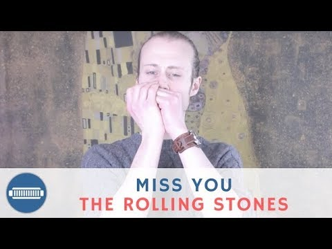 How to play Miss You by The Rolling Stones on D Harmonica