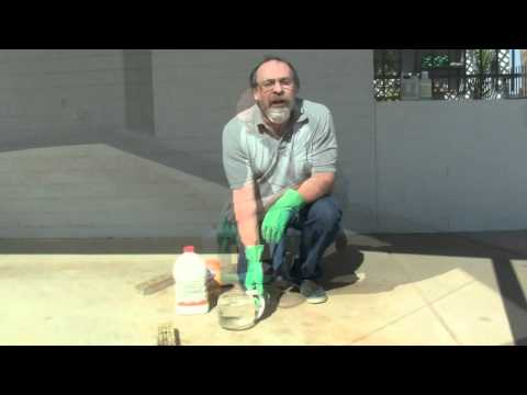 Remove Oil Stains and Rust from a Driveway