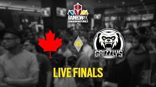 Rainbow Six Siege: LIVESTREAM Canadian Nationals - Season 2   LIVE Finals