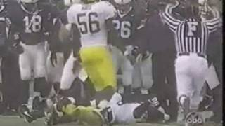 Hardest and Sickest Football Hit Ever streaming