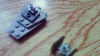 как сделать Лего имперский разрушитель и иситка