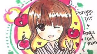 Angie ART Manga X Ponggo DIY - DIY comic book is now on :D