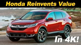 2017 Honda CR-V Review and Road Test | DETAILED in 4K UHD!