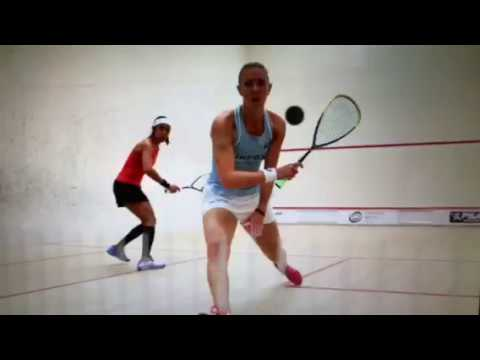 Laura Massaro Over Nicol David In Oracle NetSuite Open Squash 2018 Women's Quaterfinals