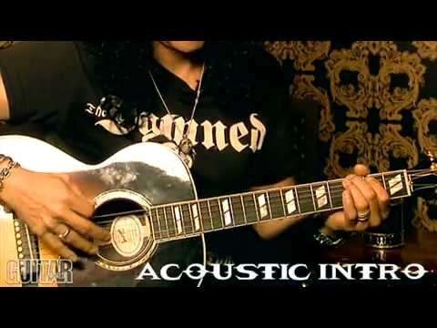 Slash Interview & Lesson – How To Play By The Sword
