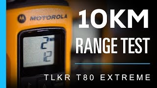 Download Video Motorola TLKR T80 Extreme - 10km Range Test MP3 3GP MP4