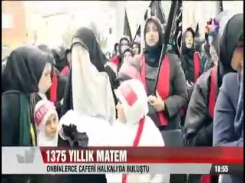 Turkish Shia Muslims mourning for Imam Hussein a.s - True Shia Islam