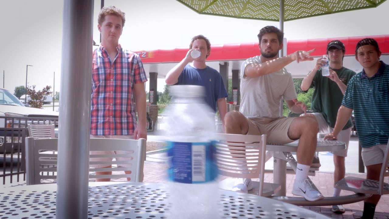 That Bottle Flip Guy's At Sheetz?!?!