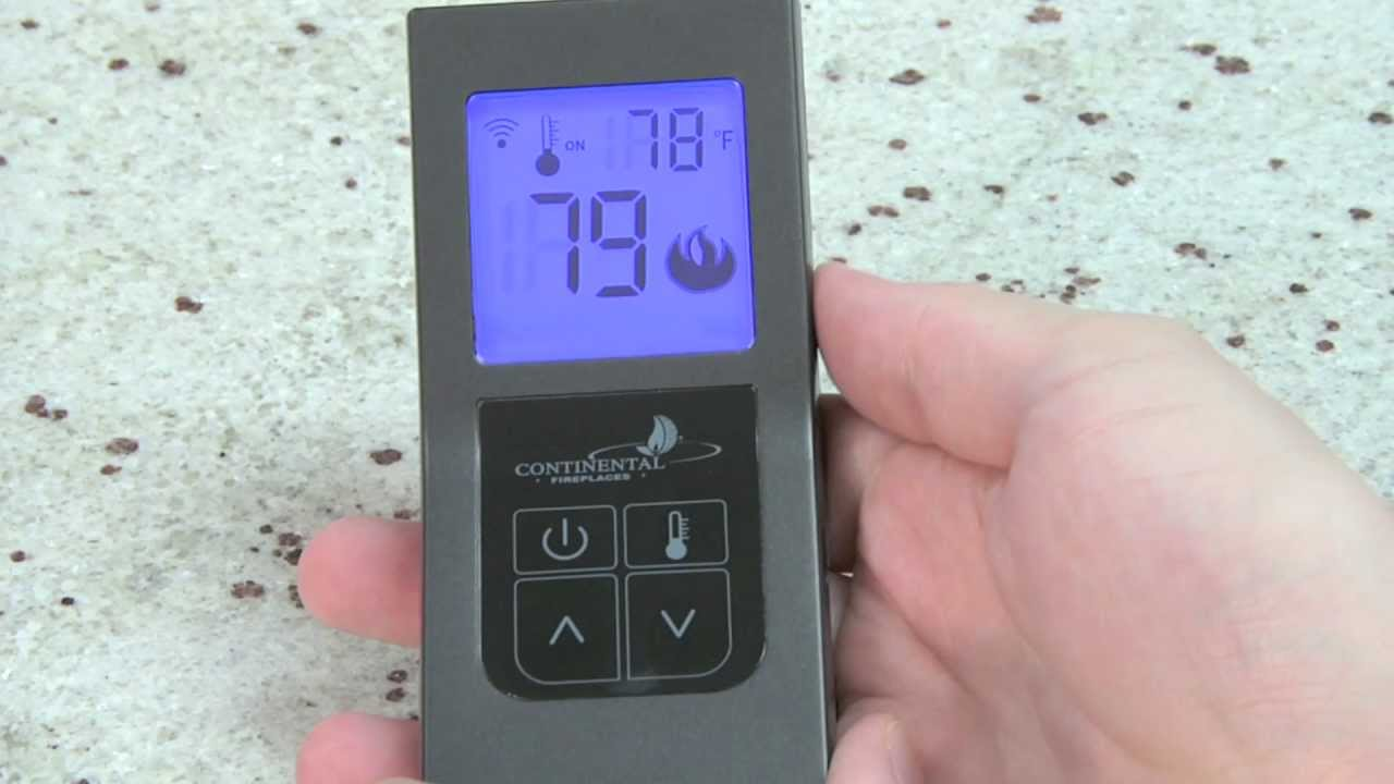 how to use your cf45 and cf60 fireplace remote controls youtube