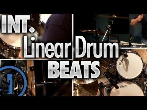 Intermediate Linear Drum Beats