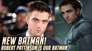 Robert Pattinson Is Our NEW BATMAN! - Quick Thoughts