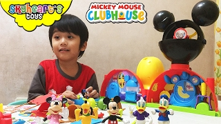 Kid playing with Mickey Mouse Clubhouse Toys for Kids Playtime Donald, Goofy, Pluto Disney Toys