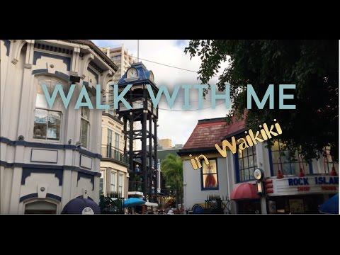 Walk with Me   Kings Village   Royal Grove    Waikiki 2017   Vlog 6
