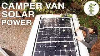 Van Life - Our Amazing Solar Power Set up!  Off Grid Camper Van