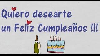 Feliz Cumpleaños Te Desea ElsaMara