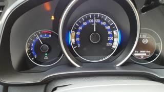 Honda Jazz 1.3 100 hp  2016 Acceleration