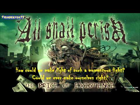 All Shall Perish - Awaken The Dreamers (HD/HQ) WITH LYRICS
