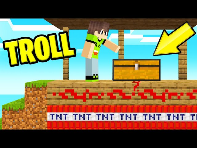 I Found A SECRET TEMPLE But Got TROLLED! (Minecraft)
