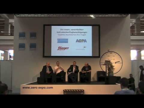 AERO 2014: Podiumsdiskussion zu den neuen Instrument Ratings