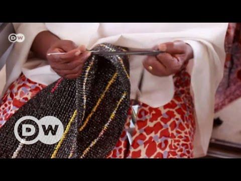Plastic fantastic: Nigeria's carrier bag fashionistas | DW English